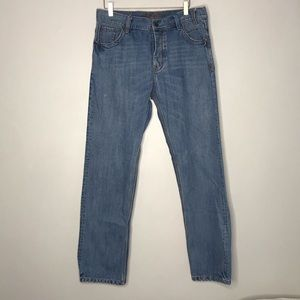 Billabong Button Fly Blue Jeans Size 33